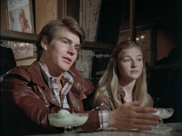 A young Dennis Quaid as privileged rich kid Phil Lawver in Walter Grauman's Are You in the House Alone? (1978)