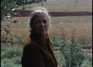 The elderly mother is seen back in the past at the end of Andrei Tarkovsky's Mirror (1975)