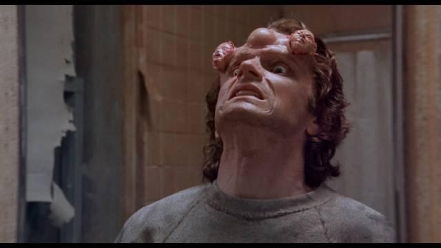 Mr. Staziak (Steve Parrish) loses control of his telekinetic powers in Pierre David's Scanner Cop (1993)