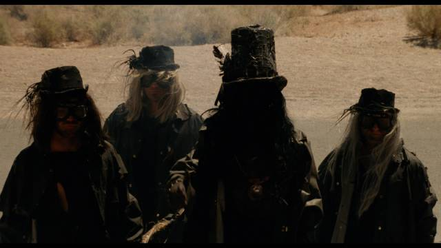 Among Buddy's rivals in Lance Mungia's Six String Samurai (1998) are Death himself and his minions