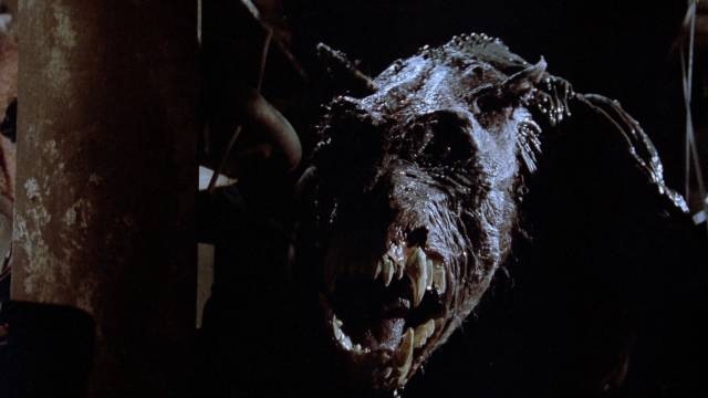 The monster is a manifestation of an ancient Native curse in Kevin S. Tenney's The Cellar (1989)