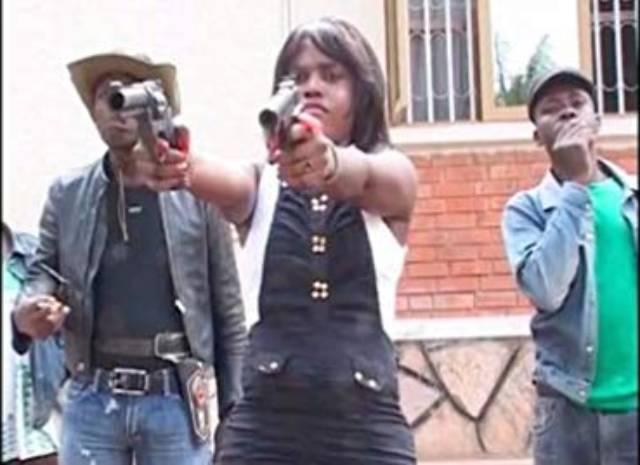Bad Black (Natwanga Gloria) takes care of business in Nabawana I.G.G.'s Bad Black (2016)
