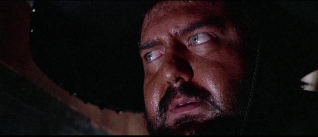 Vigonza (Chris Huerta) is betrayed by Billy Kane (Venantino Venantini) in Massimo Dallamano's Bandidos (1967)