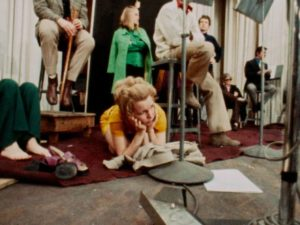 """Energy begins to flag as the session goes on into the night in D.A. Pennebaker's Original Cast Album: """"Company"""" (1970)"""