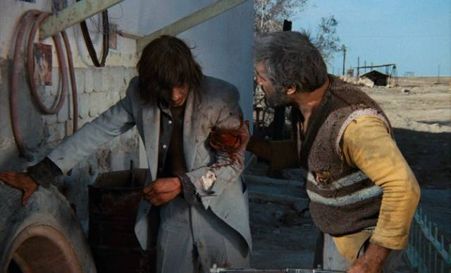 A desperate man named Charles Dump (Mario Adorf) sees a chance to escape his dead-end life in Roland Klick's Deadlock (1970)