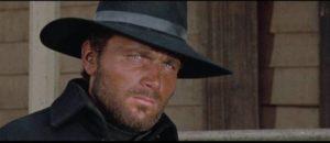 Tom Corbett (Franco Nero) returns a home beset by violence in Lucio Fulci's Massacre Time (1966)