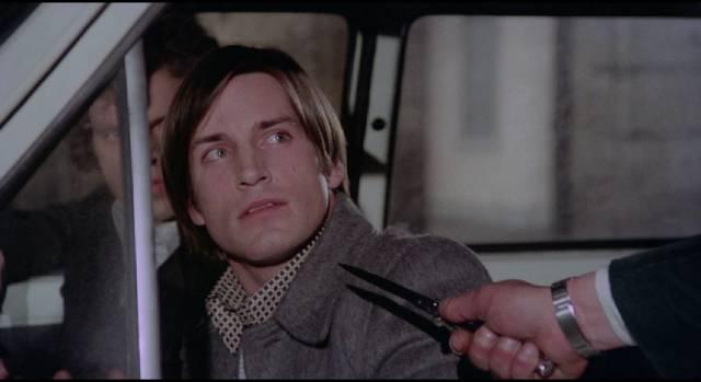 Bored computer tech Ovidio Mainardi (Joe Dallesandro) commits increasingly violent crimes in Vittorio Salerno's Savage Three (1975)