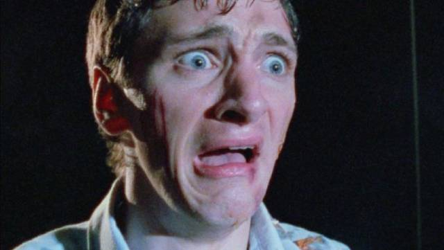 Future Oscar-nominee John Hawkes becomes unhinged in a Halloween house in Daniel Erickson's Scary Movie (1991)