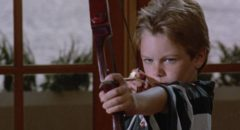 """10-year-old Brian Bonsall is a cold-blooded """"bad seed"""" in Dennis Dimster-Denk's Mikey (1992)"""