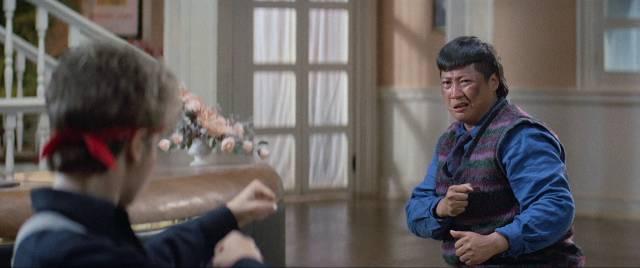 Cynthia Rothrock kicks Sammo Hung's butt in The Millionaires' Express (1986)