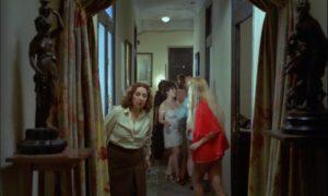 El Jaro (Jose Luis Manzano) and his friends raid a brothel in Eloy de la Iglesia's Navajeros (1980)