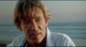 Director Eli Cross (Peter O'Toole) has a god complex in Richard Rush's The Stunt Man (1979)