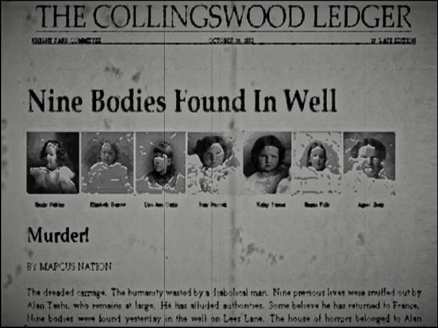 On-line research uncovers the town's violent history in Mike Costanza's The Collingswood Story (2002)