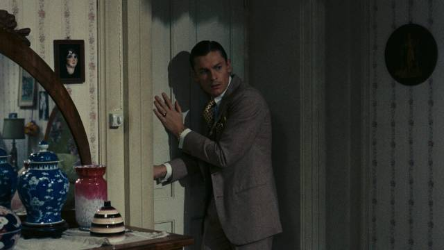Martin (Helmut Berger) gradually slips towards paranoia and madness in Luchino Visconti's The Damned (1969)