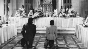 Emissaries from the Devil attend a wedding feast in Marcel Carné's Les visiteurs du soir (1942)