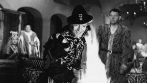 The Devil (Jules Berry) gets personally involved in Marcel Carné's Les visiteurs du soir (1942)
