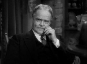 Bark (Victor Moore) tries not to face the reality of the situation in Leo McCarey's Make Way for Tomorrow (1937)