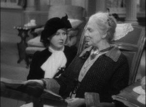 Lucy (Beulah Bondi) promises not to give away Rhoda (Barbara Read)'s secret in Leo McCarey's Make Way for Tomorrow (1937)