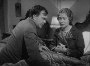 George (Thomas Mitchell) and Anita (Fay Bainter) feel guilty about separating Lucy (Beulah Bondi) and Bark (Victor Moore) in Leo McCarey's Make Way for Tomorrow (1937)